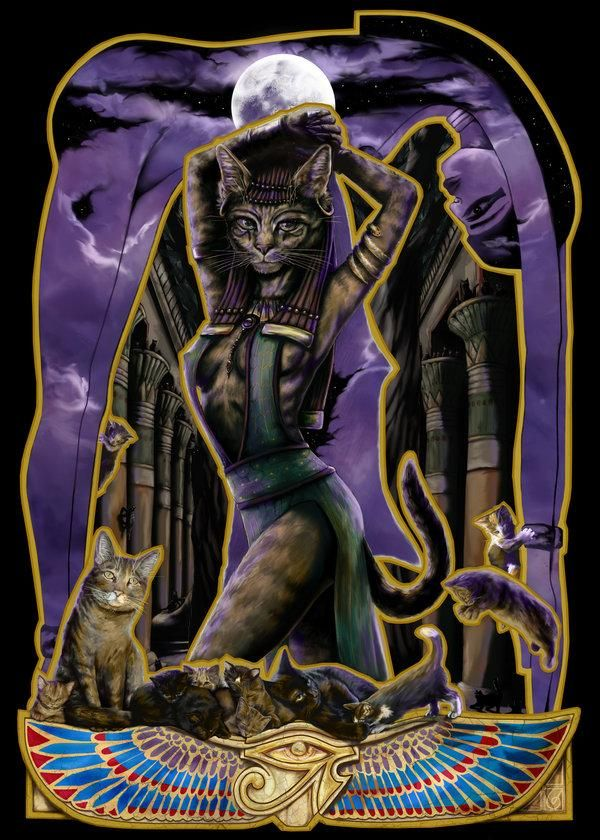 legends egyptian cat god - photo #5