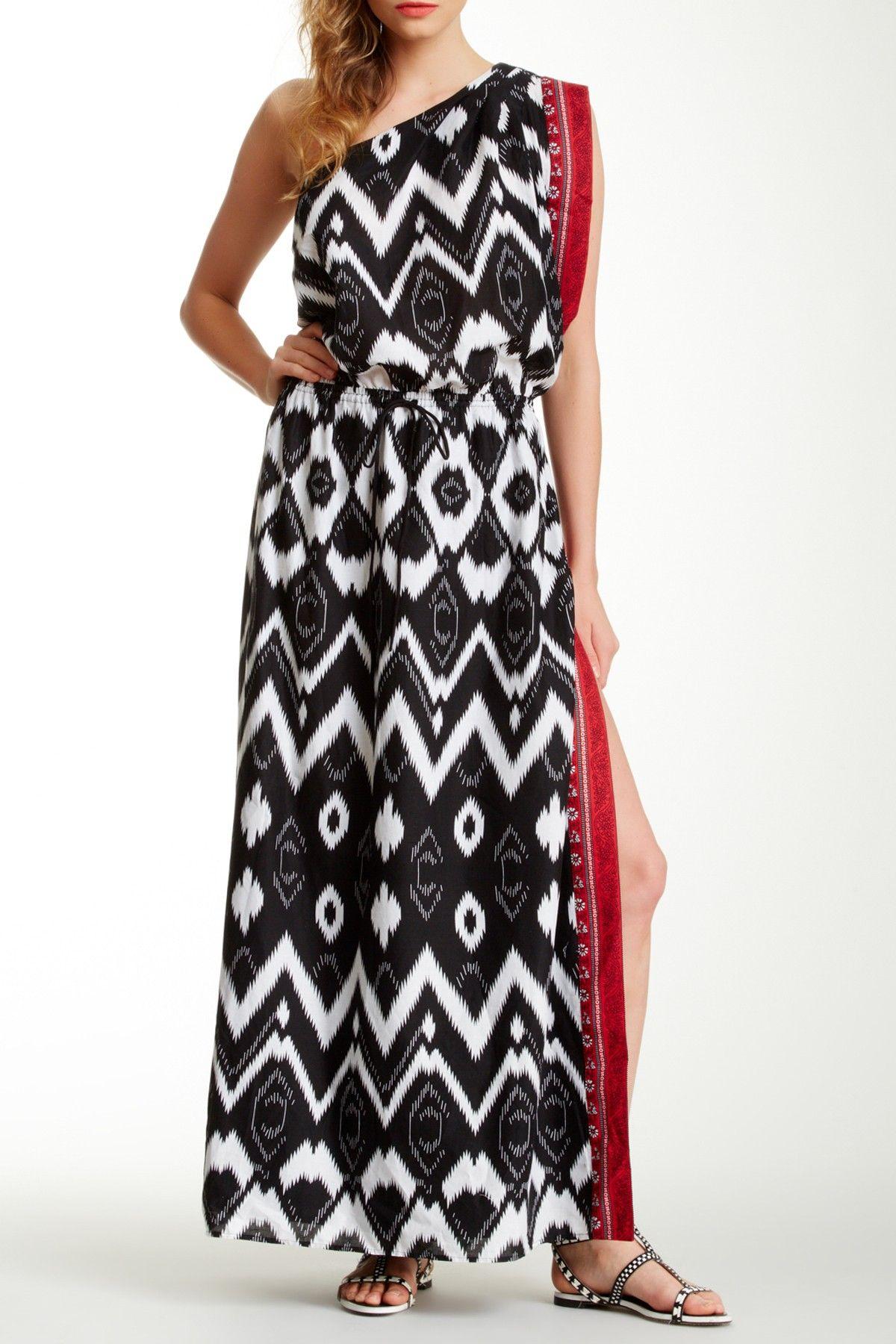 Scarf Maxi Dress