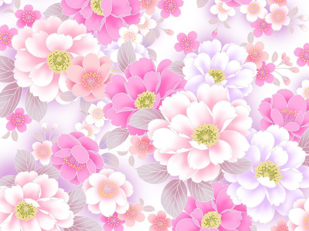 Floral Backgrounds Free Download Wedding Flower Powerpoint Backgrounds And Wallpapers 07 Pink Floral Wallpaper Floral Background Flower Background Wallpaper