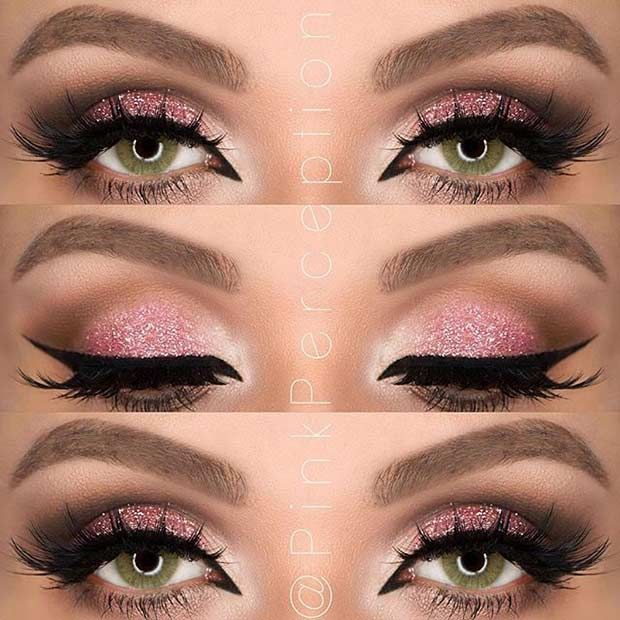 31 Pretty Eye Makeup Looks For Green Eyes With Images Red Eye