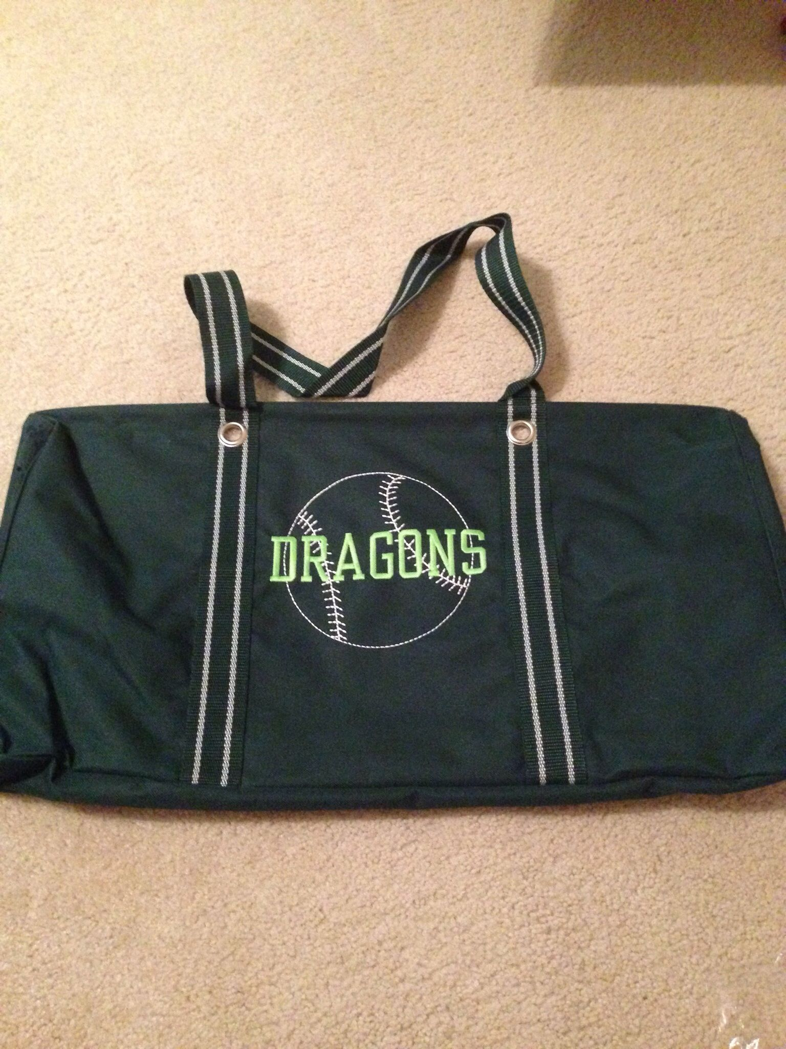 Customize a Large Utility Tote for all your sports gear!
