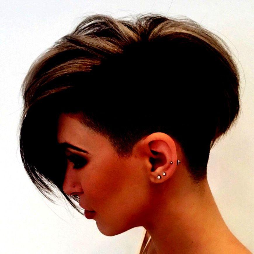 Sidecut Frauen Muster Frisuren Haarschnitte