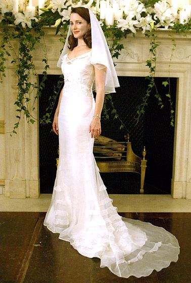 Celebrity Wedding Dresses Tv Movies Kristin Davis
