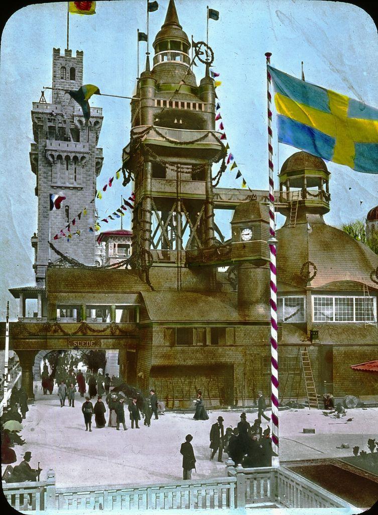 Pavillon de Suède Exposition universelle de 1900