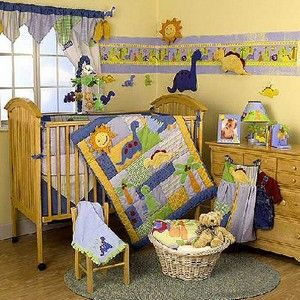 Dinosaur Crib Bedding If This Baby S A Boy I Am So Doing