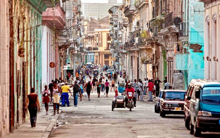 Download Wallpapers Havana 4k Street Cuba Travel
