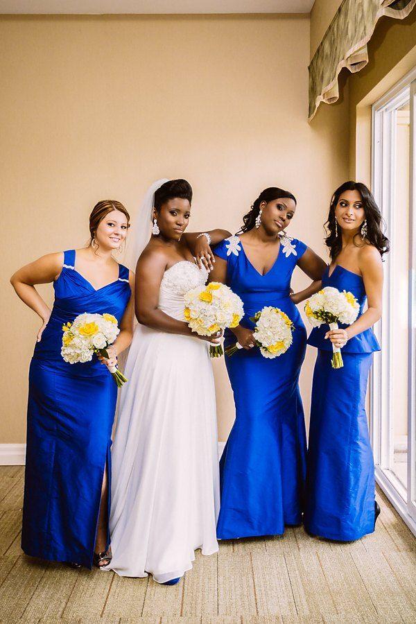 Multicultural Blue and Yellow Canadian Wedding - Munaluchi Bridal Magazine 52bad370dc18