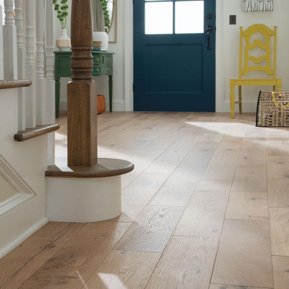 Blue Ridge Hardwood Flooring Castlebury Wimborne Eurosawn White Oak 1 2 In T X 7 In W X Solid Hardwood Floors White Oak Hardwood Floors Hardwood Floor Colors