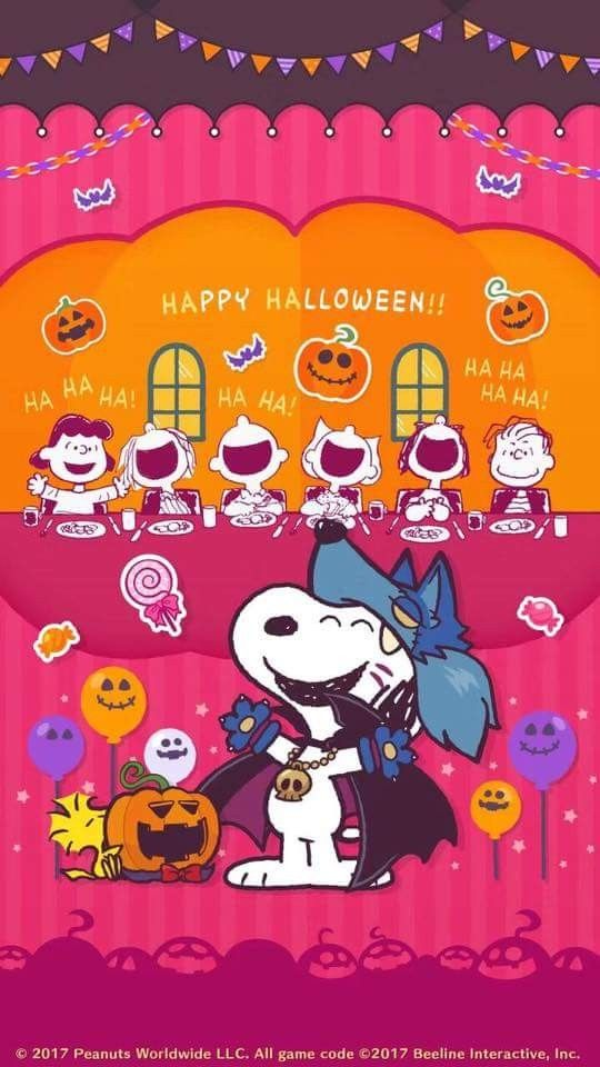 Happy Halloween To Snoopy