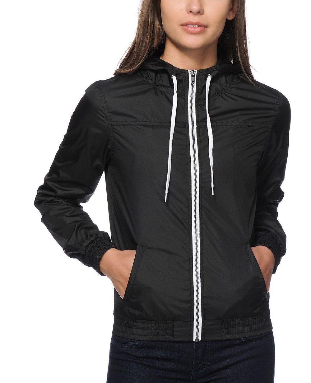 feecf0f09a5 ... Windbreaker Coat Outerwear Bomber Jackets …  http   www.quickapparels.com women-long-zipper-