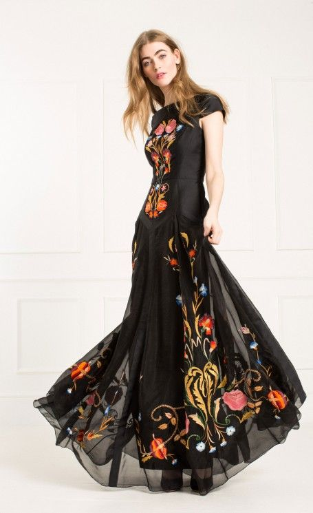 Long Toledo Dress | Designer Evening Gowns | Temperley London | In ...