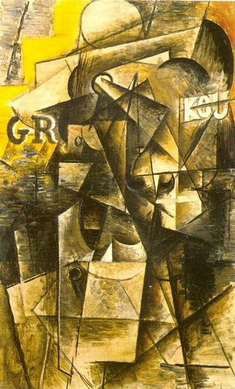 Pablo Picasso Tete D Homme Moustachu Kou 1912 Mit Bildern