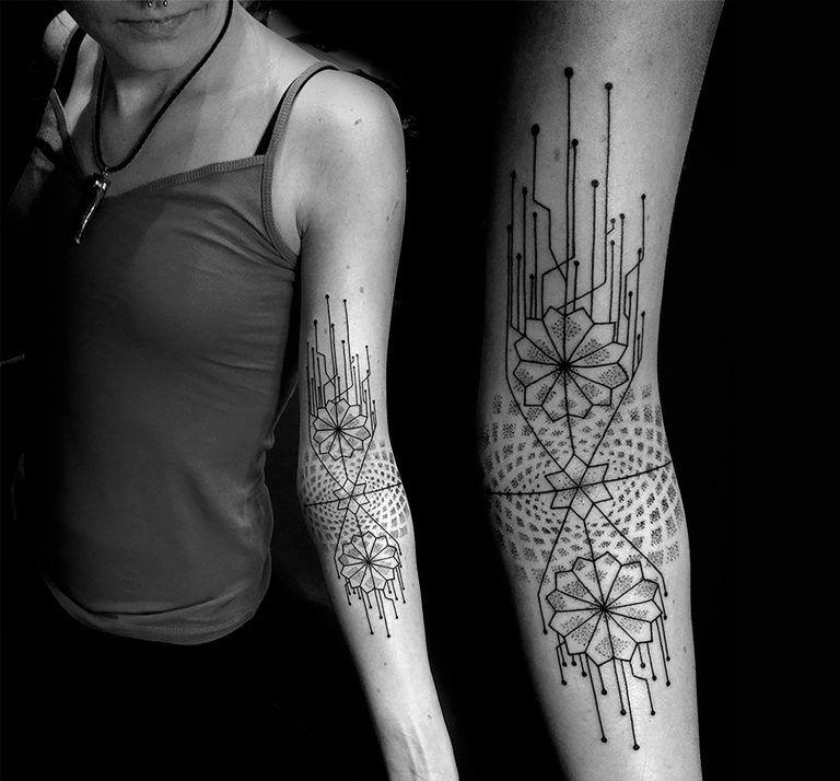 Inner Elbow Mandala Tattoo: Inking The Sacred: Mandala Tattoos By Katia Somerville