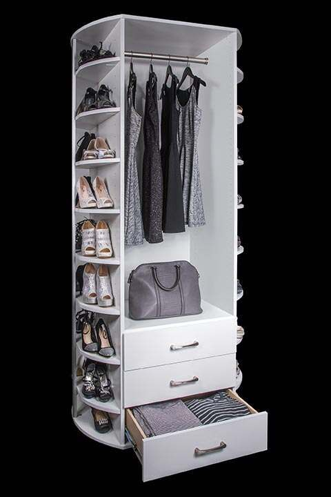 Lazy Lee Rotating Shoe Rack In 2020 Rotating Shoe Rack Shoe Rack Corner Closet Organizer