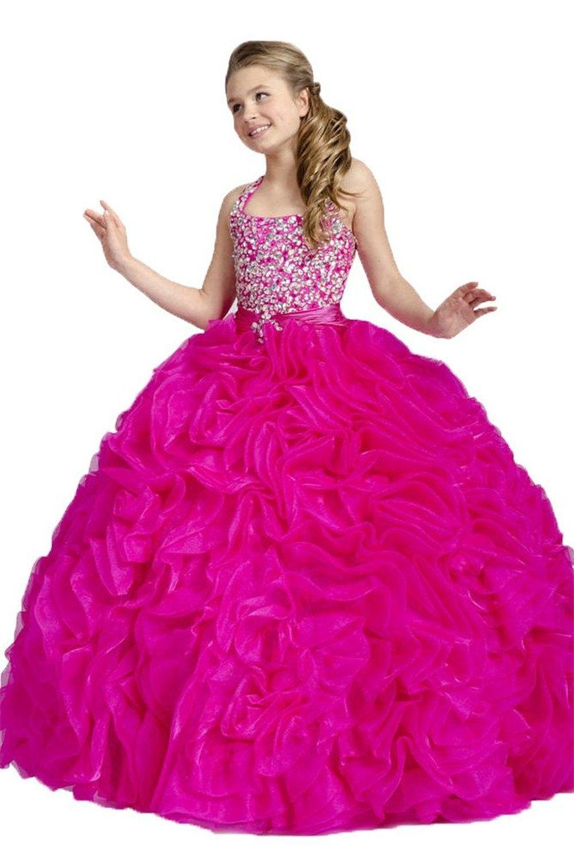 wonderful ball gown halter sweep train halter organza beaded