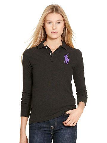 Skinny Fit Big Pony Polo - Polo Ralph Lauren Polo Shirts - RalphLauren.com