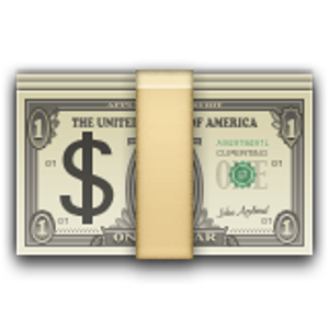 Banknote With Dollar Sign Money Emoji Money Animation Cool Emoji