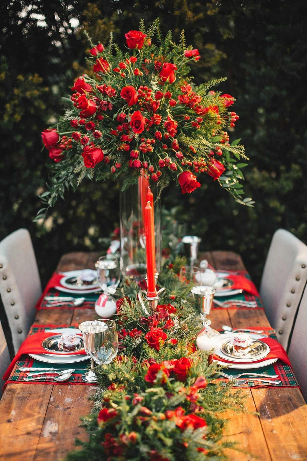 Bluebird Christmas Tree Farm Inspiration Shoot | Tree ...