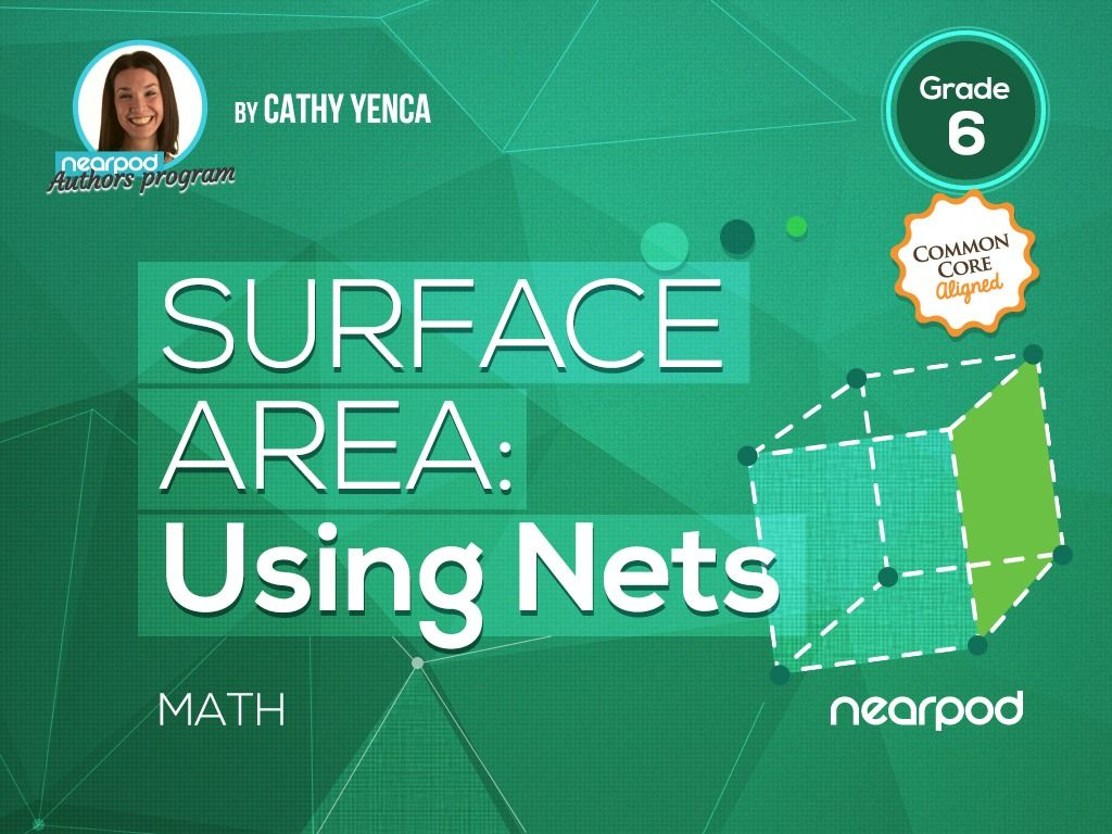Check out this amazing Math presentation on Surface Area: Using Nets ...