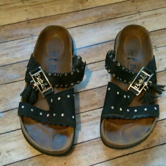 b31578c81 Birkenstock Betula Krystal Womens Rhinestone Black Sandals Size 9 W9 M7  Birki  Betula  Strappy