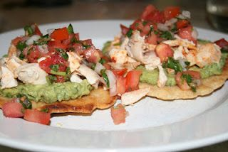 Paleo Table | Paleo Recipes, meal plans, and shopping lists: Chicken and Avocado Tostadas