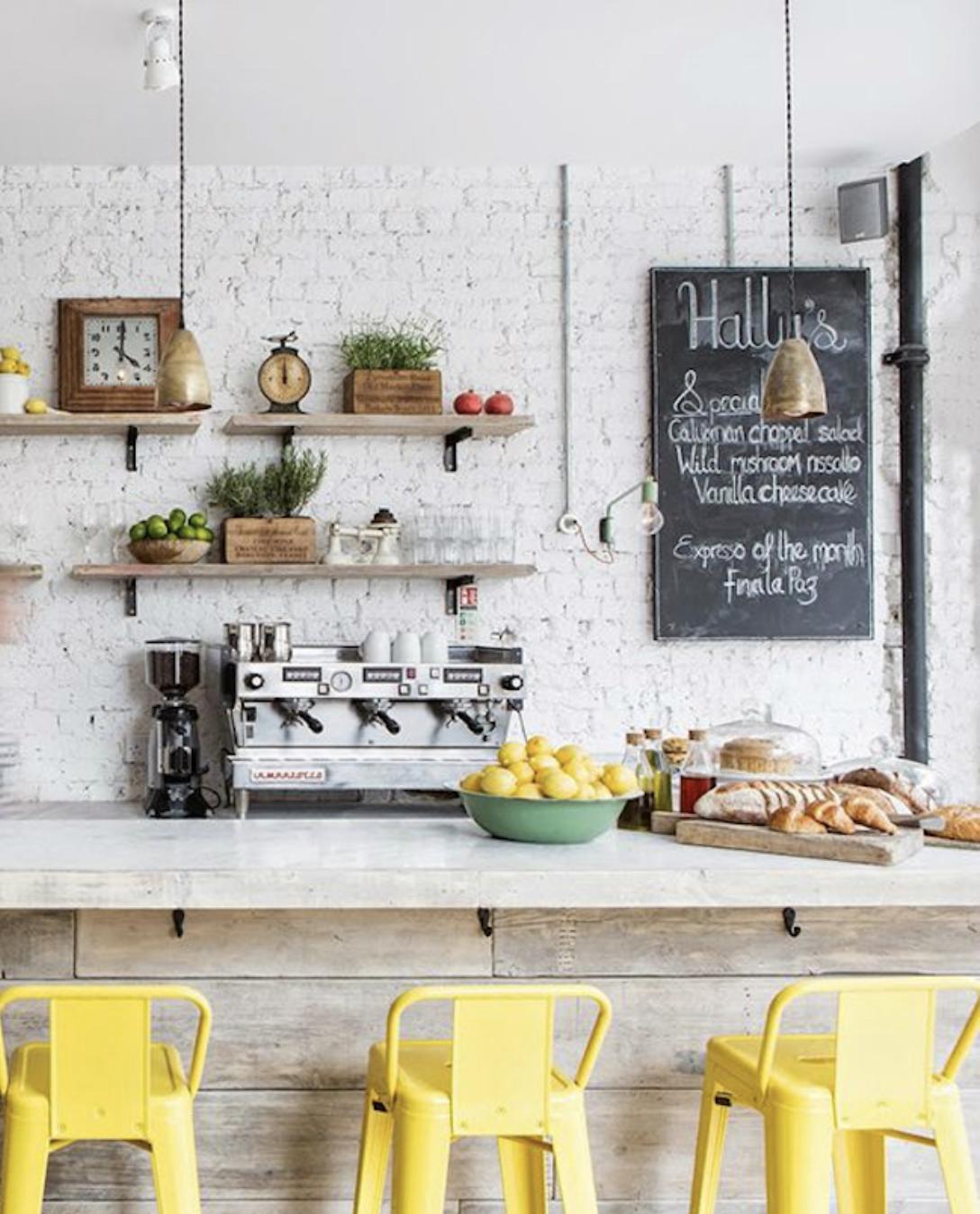 Pin von Shannon Bowen auf Coffee Shops | Pinterest | Barhocker