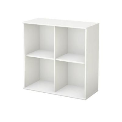 Cascavel 36 1 4 Wide 6 Shelf White Stair Cubby Bookcase 1j367 Lamps Plus White Wood Bookcase Stair Shelves Shelves