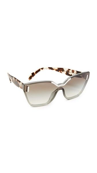 2099561307 PRADA Hide Catwalk Sunglasses. #prada #sunglasses | Prada | Prada ...