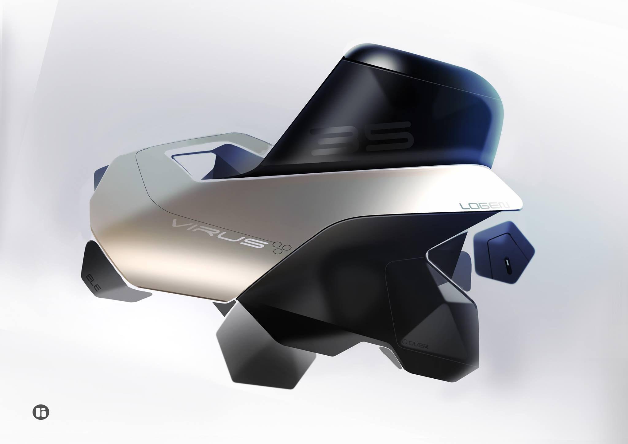 Pin By Florian Desnos On Adn Vparis Conceptual Design Automotive Design Drone Design
