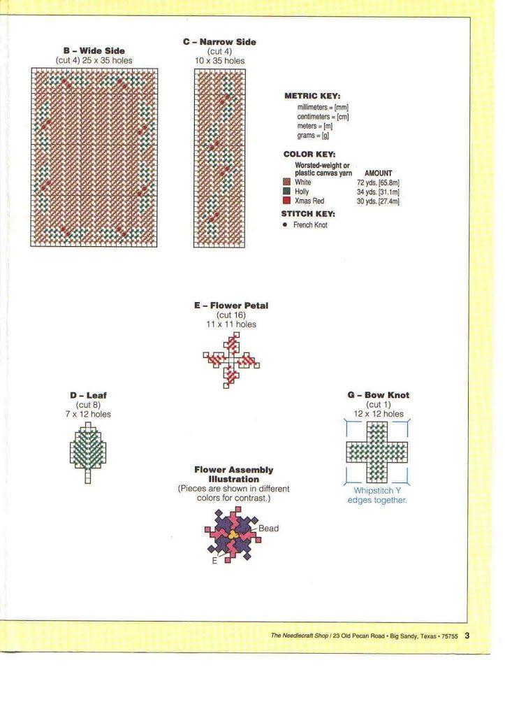 PLASTICS CANVAS NAVIDAD - sonia escaurido - Picasa Web Albums ...