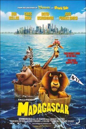 Madagascar 2005 Madagascar Movie Dreamworks Movies Animated Movie Posters