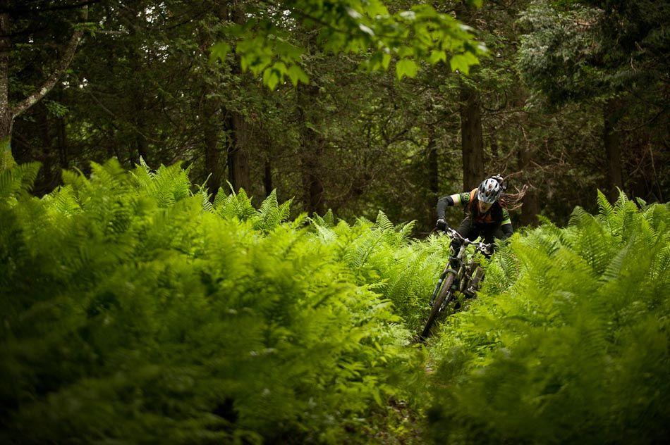 The Birthplace of Quebec Mountain Biking - beautiful!
