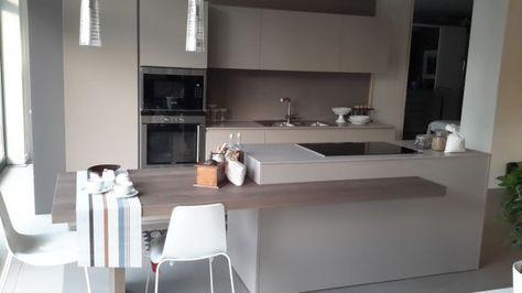 cucina con isola zampieri cucine line k a vicenza | cucina, Kuchen