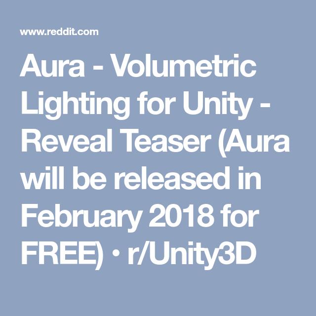 Unity 2018 Reddit