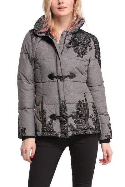 Desigual women's Roxana coat. A British inspired stylish