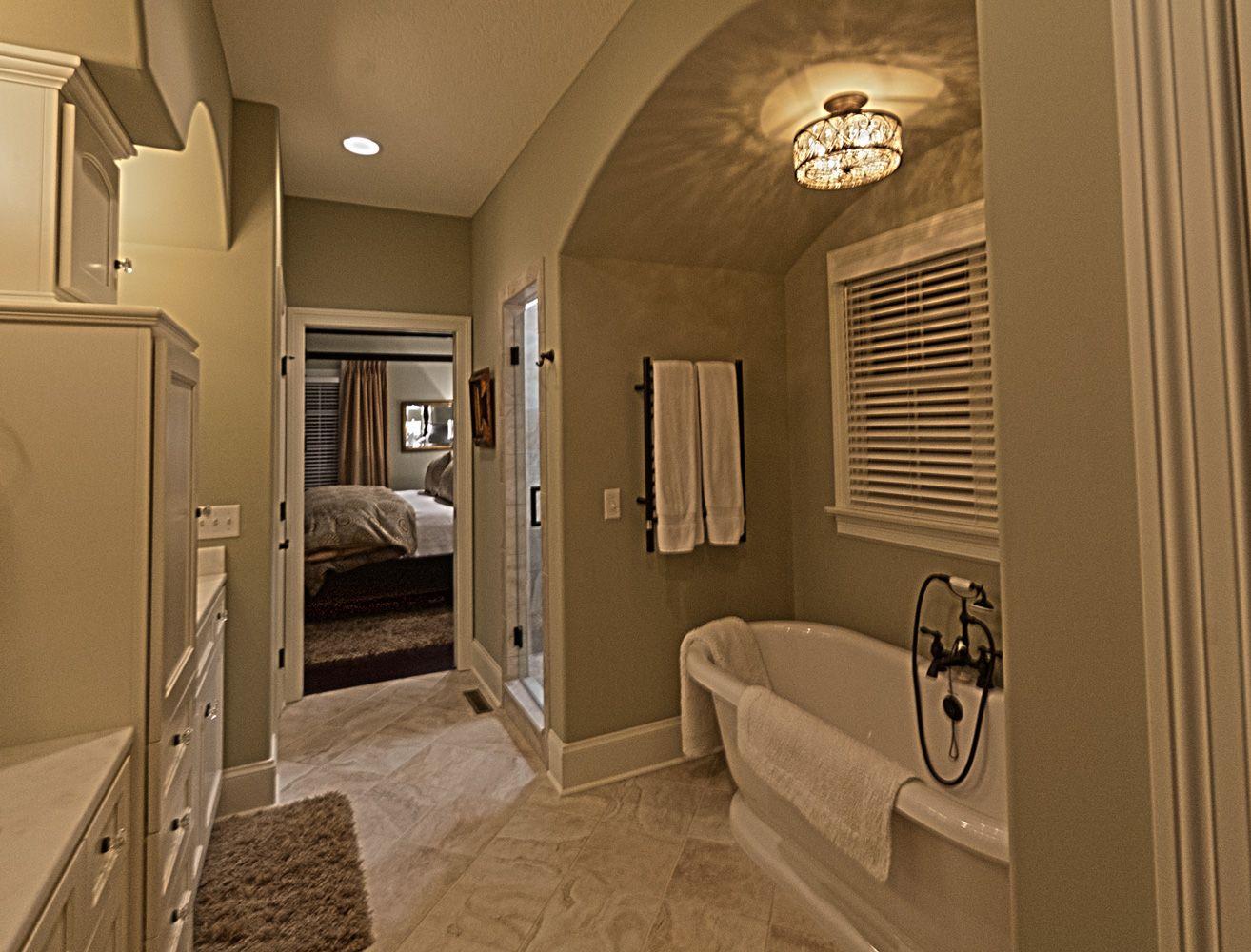master bathroom blueprint | Springfield | Old World ...