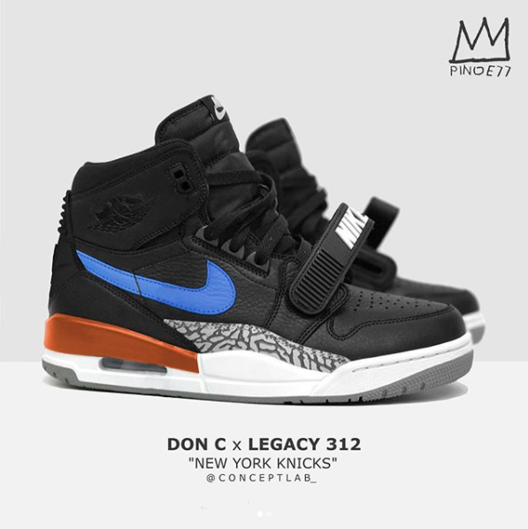 Don C x Jordan Legacy 312 Knicks Believed To Also Be Releasing As reported  earlier this