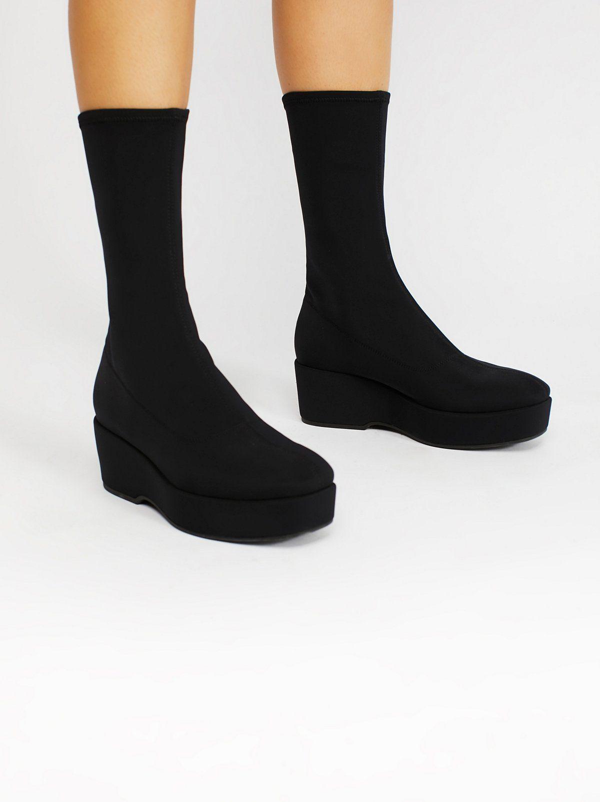 Pia Stretch Platform Boot  234f30b687
