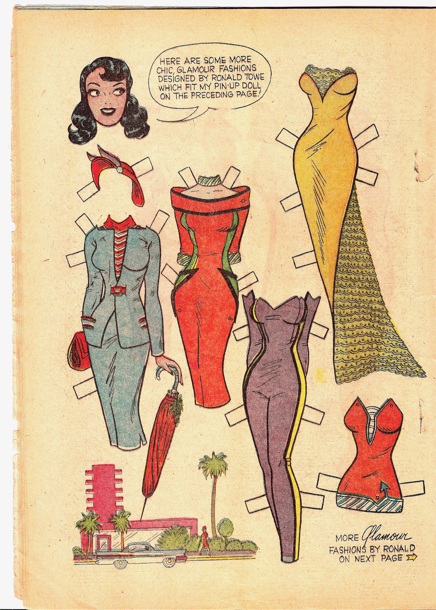 Pin by Jessica Abend on Katy Keene   Paper dolls clothing, Paper ...
