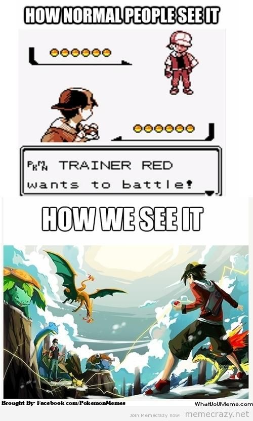 62ea656bcb16df1c41cb194f77675f55 pokemon tumblr playing pokemon game funny pictures, anime meme