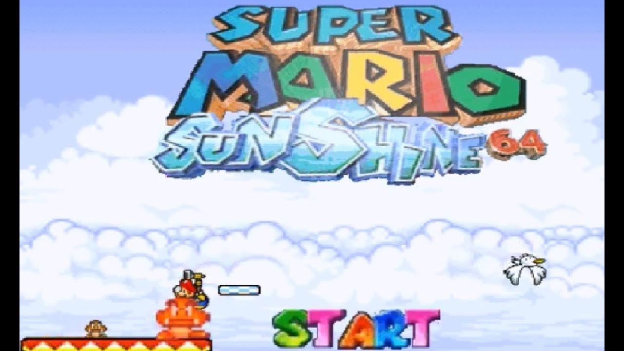 Super Mario Sunshine 64 Pc Gameplay Super Mario Sunshine Super Mario Mario Video Game