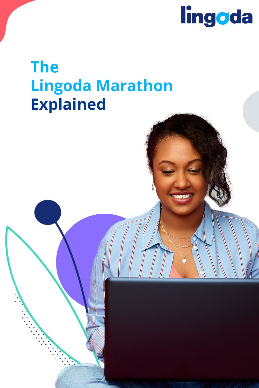 The Lingoda Language Marathon Explainer (With images) | Language. Learn english. Language school