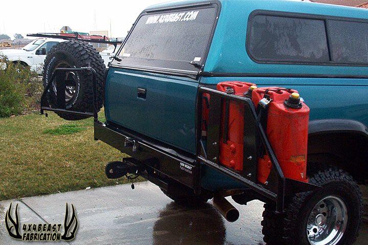 4x4Beast Fabrication Custom Made Rear Bumpers   Vehicle