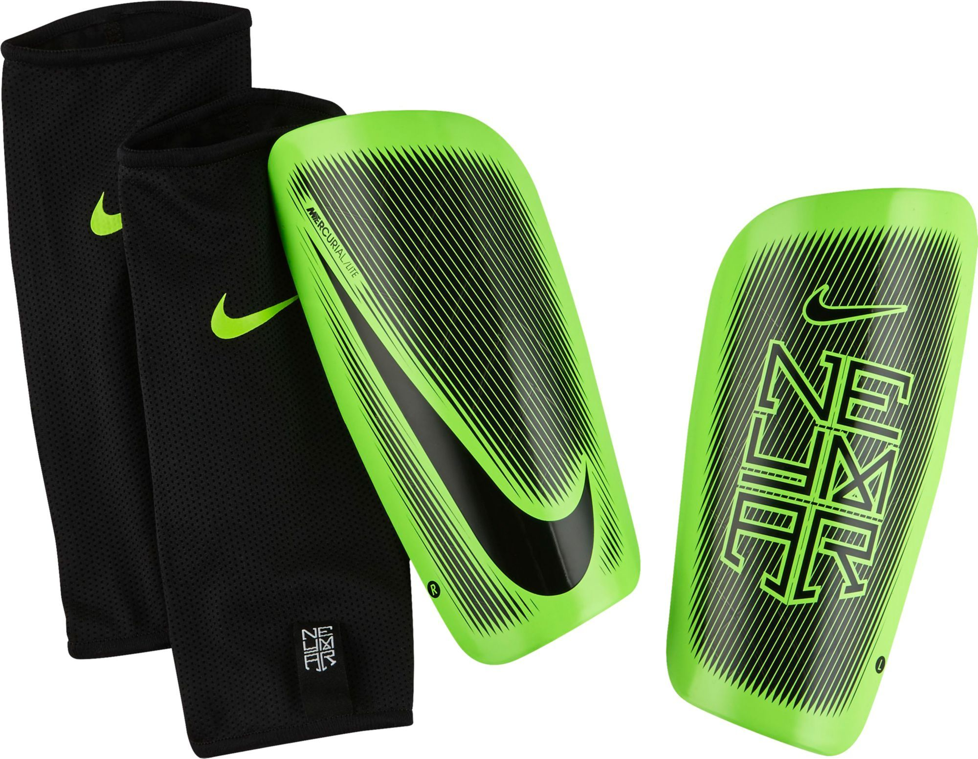 Nike Adult Neymar Mercurial Lite Soccer Shin Guards 24be5e57c3415