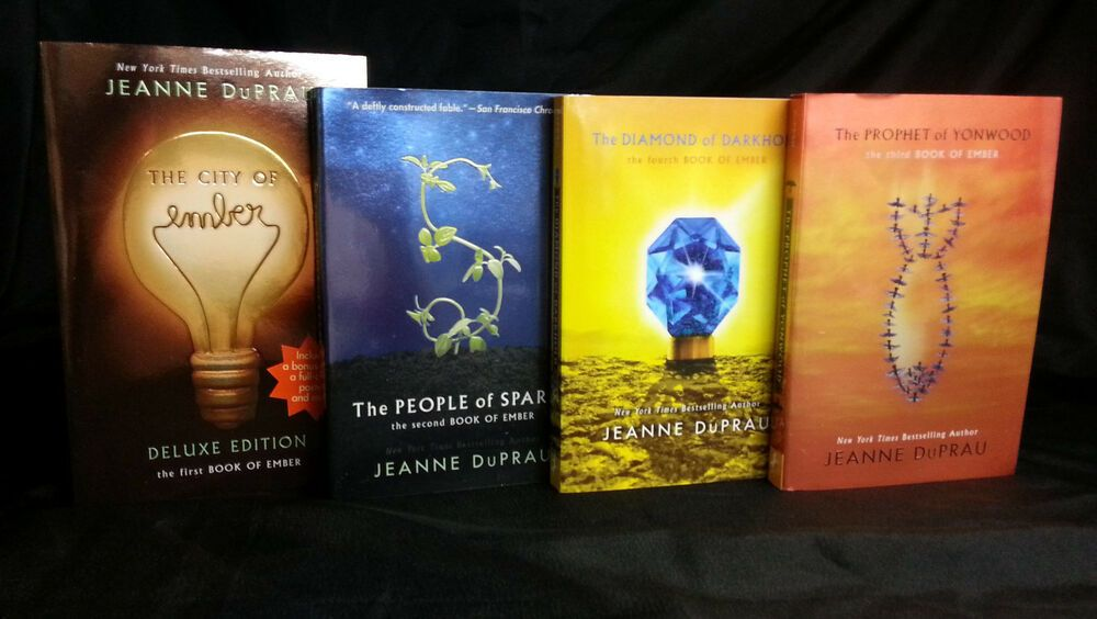 City Of Ember Series Collection Set 1 4 By Jeanne Duprau Sparks Prophet Diamond City Of Ember City Of Ember Book Love Book