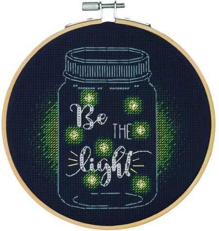 Photo of Dimensions Be The Light – Cross Stitch Kit 72-75982