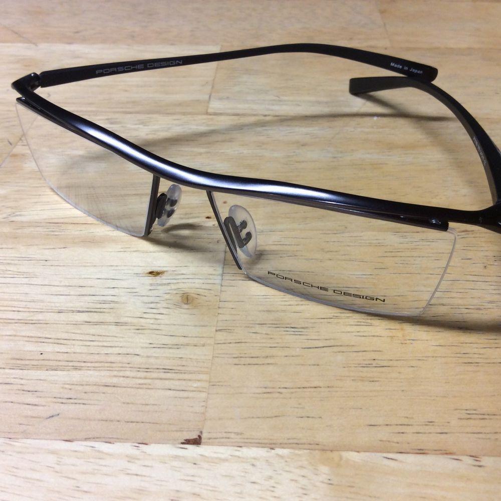 Porsche Design Eyeglass Frames Demo P8189 54~16 Black Light Weight