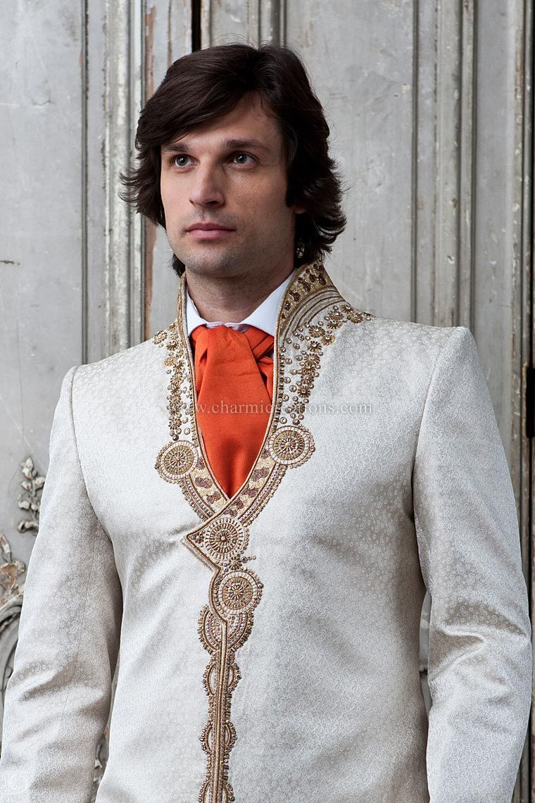 Groom Suits Mens Sherwani Design Wedding Suits Grooms Wear ...