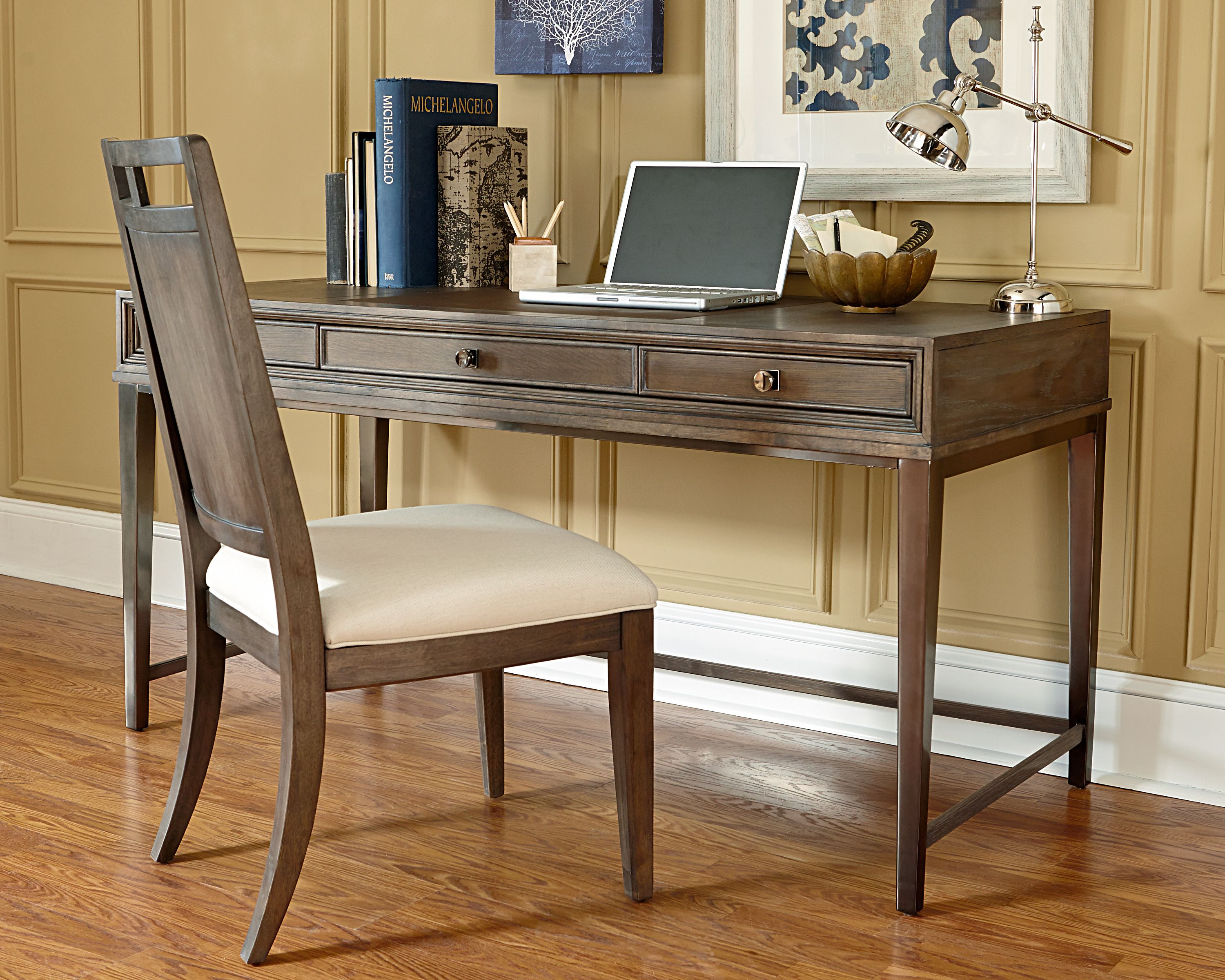 laminate graphite national desking office new morgan gray desk and product writing station