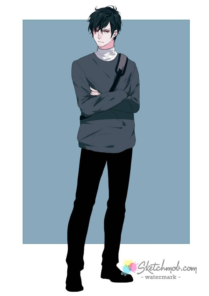 41+ Anime boy hoodie full body ideas